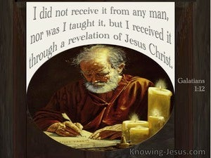 Galatians 1:12 Received Through A Revelation Of Jesus Christ (windows)01:05