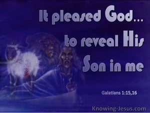Galatians 1:16 It Pleased God To Reveal His Son In Me (windows)12:22