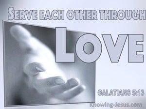 Galatians 5:13 Serve One Another Through Love (windows)08:31