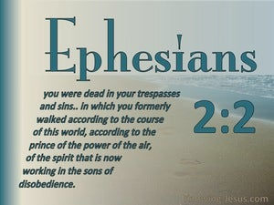 Ephesians 2:2 Sons Of Disobedience (sage)