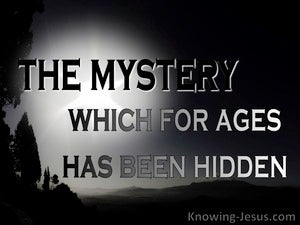 Ephesians 3:9 Administration Of The Mystery black