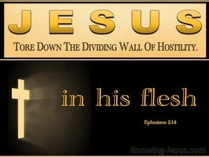 Ephesians 2:14 He Himself Is Our Peace (black)