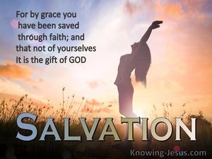 Ephesians 2:8 Total Salvation (devotional)12:27 (orange)