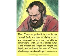 Ephesians 3:14 Paul's Powerful Prayer (devotional)12:08 (green)