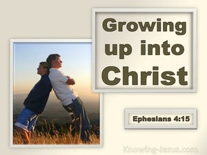 Ephesians 4:15 Speaking The Truth In Love (brown)