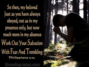 Philippians 2:12 Word Out Your Salvation (black)