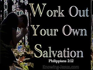 Philippians 2:12 Word Out Your Salvation gold