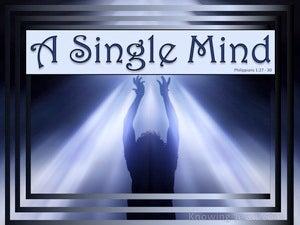 A Single Mind (devotional)