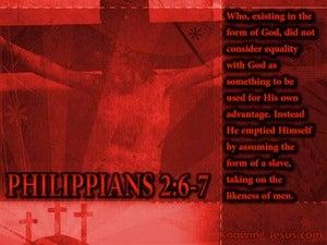 The Nature of Christ (devotional) (black) - Philippians 2:6