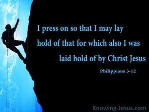 Philippians-3-12 Press On To Obtain (blue)