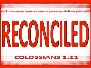 Colossians 1:21 Reconciled To God red