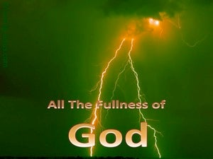 All The Fullness Of God (devotional) Colossians 2:9