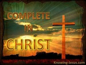 Colossians 2:10 Complete in Christ (devotional)04:06 (white)
