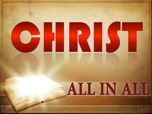 All In All In Christ (devotional) (red) - Colossians 3:11