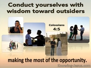 Colossians 4:5 Making The Most Of The Opportunity (pink)