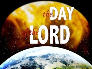 1 Thessalonians 5:2 The Day Of The Lord (yellow)