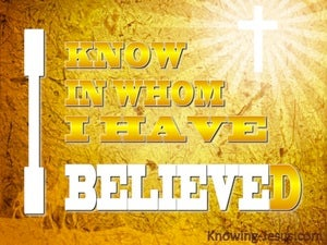 God's Secret Hand (devotional) (yellow) - 2Timothy 1:12