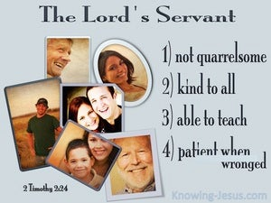2 Timothy 2:24 The Lord's Servant (gray)