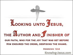Hebrews 12:2 Looking Unto Jesus The Author And Finisher Or Our Faith (windows)04:02