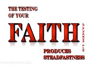 James 1:3 Testing of Your Faith (red)