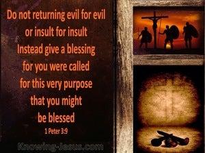 1 Peter 3:9 God is not Slow (brown)