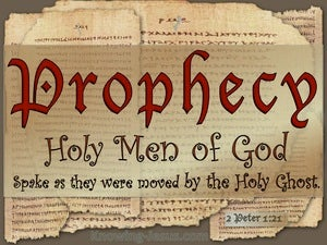 2 Peter 1:21 Holy Men Of God Spoke red