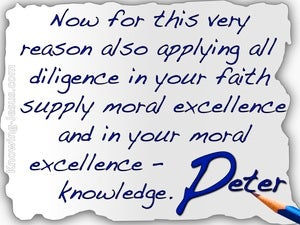 2 Peter 1:5 Add To Your Faith Goodness white
