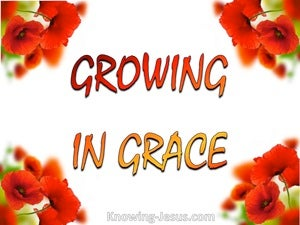 Growing in Grace devotional
