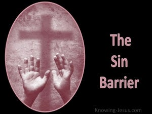 The Sin Barrier (devotional)