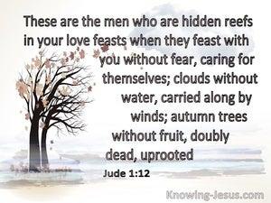 Jude 1:12 These Men Are Hidden Reefs (white)