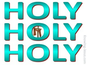 Revelation 4:8 Holy, Holy, Holy (green)