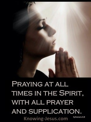 Ephesians 6:8 Praying Priests (devotional)08:03 (brown)