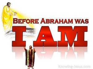 John 8:58 The Pre:Existent Christ (devotional)10:16 (white)