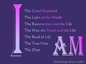 John 10:11 Jesus the Great I AM (devotional)11:02 (purple)
