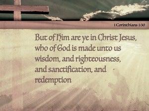 1 Corinthians 1:30 Position, Possessions, Privileges (devotional)12:10 (brown)