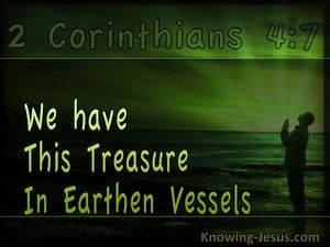 A True Witness (devotional) (green) - 2 Corinthians 4:7