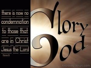 A Veiled Understanding (devotional) (beige) - Romans 8:1
