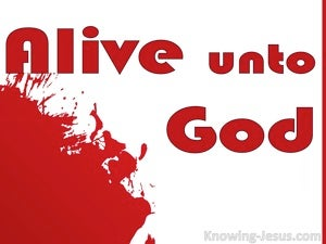 Alive Unto God (devotional) (red)- Romans 6-11
