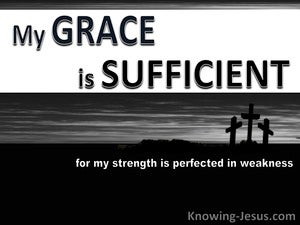 All Sufficiency of God (devotional) - 2Corinthians 12:9
