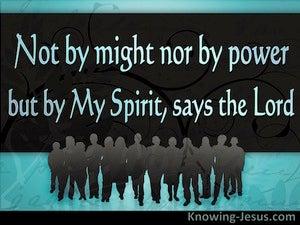An Incorporated Body (devotional) - Zechariah 4:6