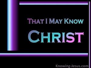 God's Divine Omnipotence (devotional) (black) - Philippians 3:10