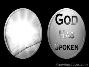 God Is Speaking (devotional) (black) - Hebrews 1:1