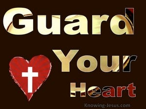 Guard Your Heart (devotional) (red) - Proverbs 4:23