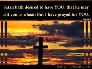 Luke 22:31 Illusion or Disillusion (devotional)08:25 (black)
