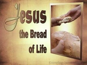Bread Of Life (devotional) (beige) - John 6:35