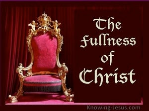 Ephesians 4:13 The Fullness of Christ (red)