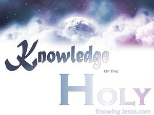 Knowledge Of The Holy (devotional) (white) - Psalm 89:15
