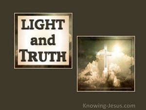 Psalm 43:3 Light and Truth (devotional)06:17 (beige)