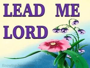 Psalm 5:8 Heavenly Guidance (devotional)08:30 (purple)