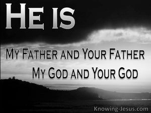 My God My Father (devotional) (black) - John 20:17